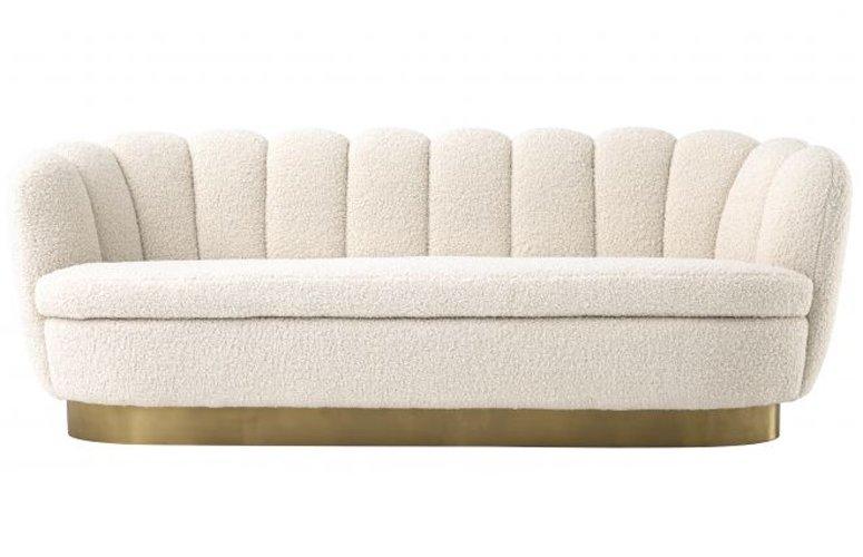 Sofá borrego crema Mirage