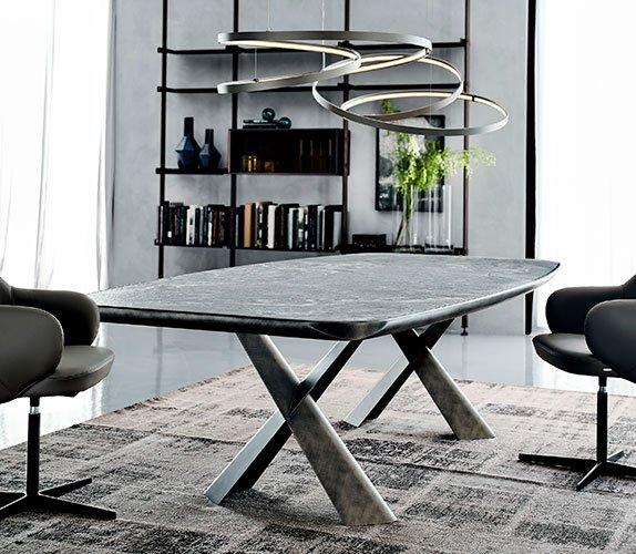 Mesa de comedor Mad Max keramik premium Cattelan