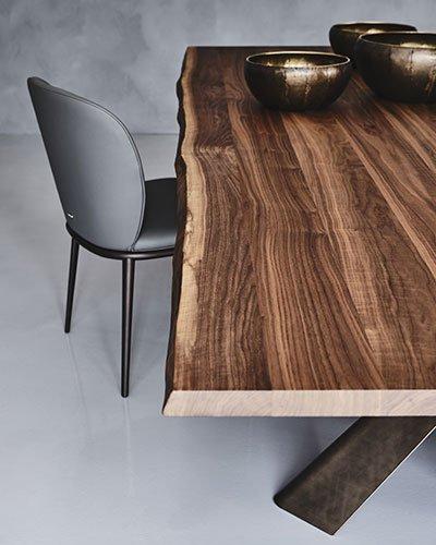 Mesa de comedor Mad Max wood Cattelan