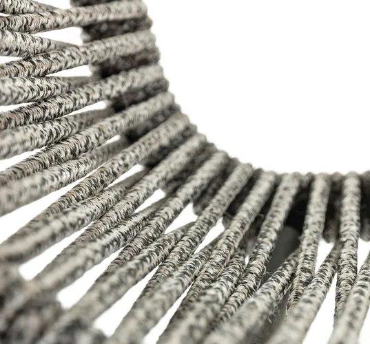 Silla de jardín Lambton gris de cuerda