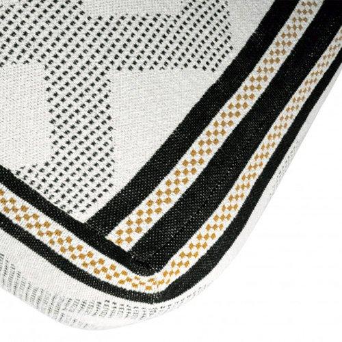 Puff tapizado estampado Rhomb