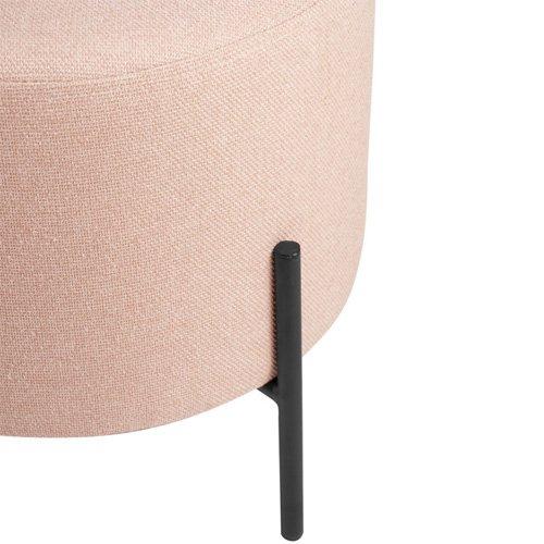 Puff tapizado rosa Herman