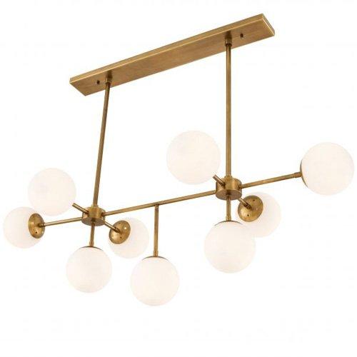 Lámpara contemporánea de metal Lux
