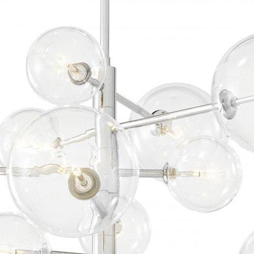 Lámpara retro metal Argento S
