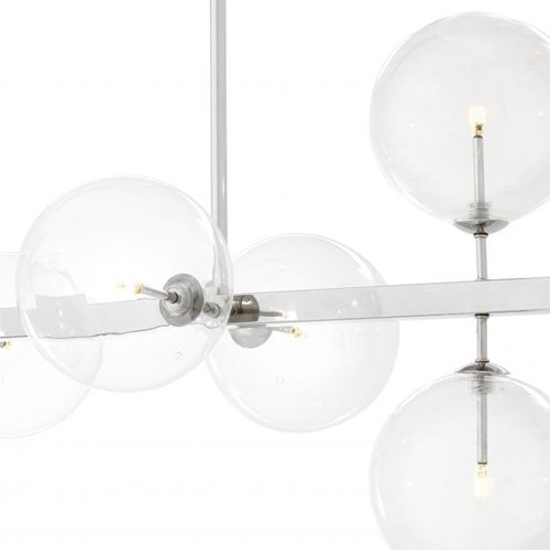 Lámpara minimalista de metal Largo