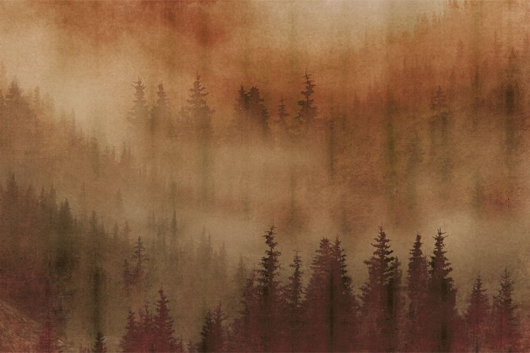 Papel pintado Mist by Inkiostro