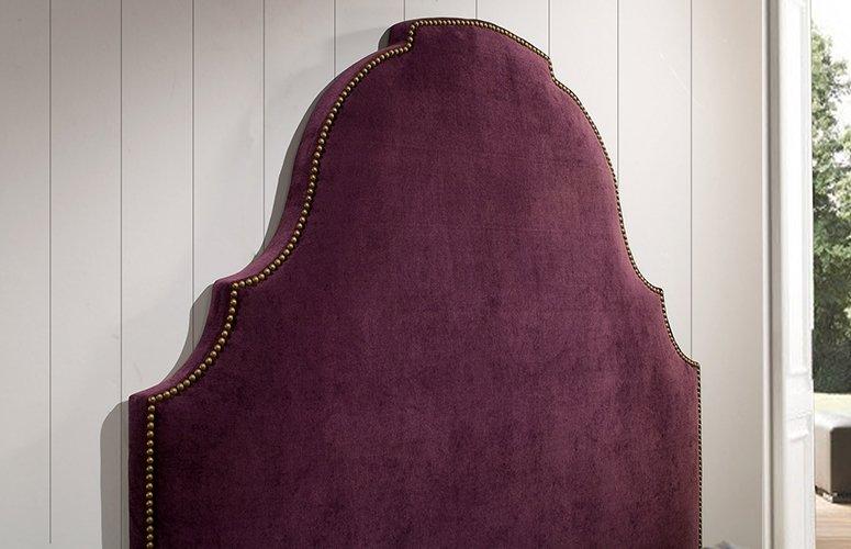 Cabecero vintage tapizado Chantilly