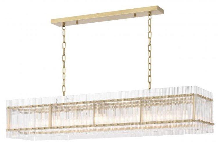 Lámpara metal Ruby rectangular