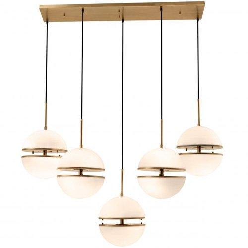 Lámpara metal Spiridon 5 light