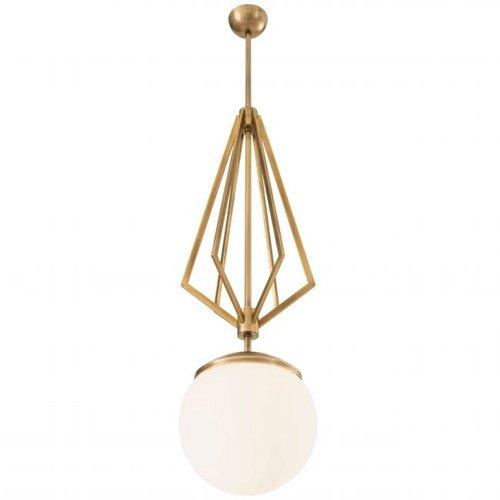 Lámpara techo dorada Gigolo