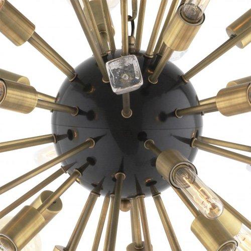 Lámpara techo dorada Tivoli S