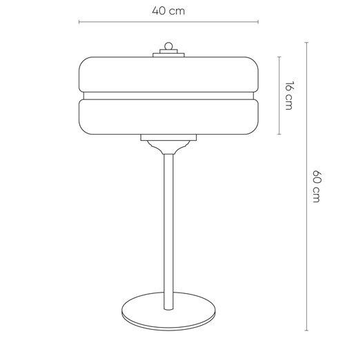 Lámpara de mesa Sarod