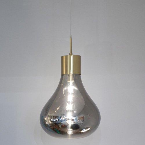 Lámpara colgante Triz smoky