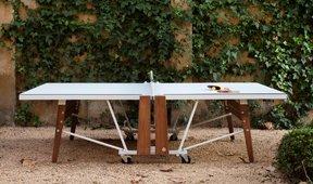 Ping pong moderno plegable