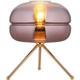Lámpara de mesa Macaron cobre