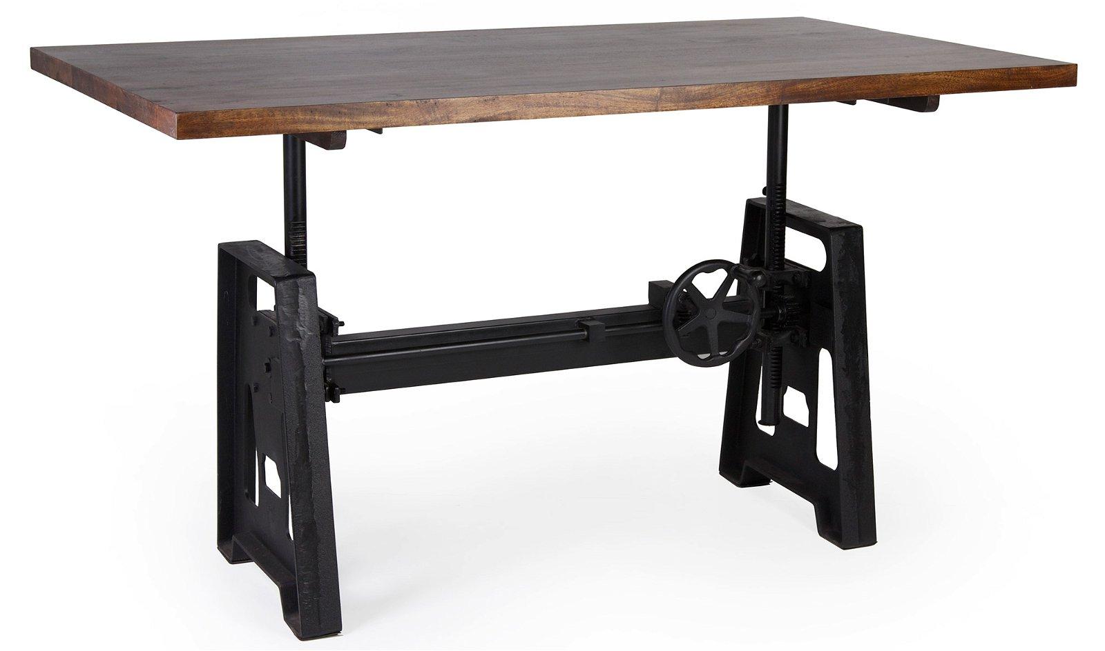 Mesa de escritorio regulable altura Pepa