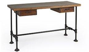 Mesa de escritorio industrial 2 cajones Pipa