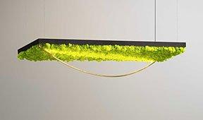 Lámpara de techo Green Silence III