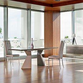 Elegancia y clase de los muebles de diseño italiano lacado