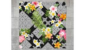 Cuadro retroiluminado Flores