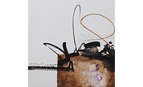 Cuadro al óleo sobre lienzo Abstracto Vela