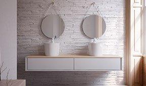 Mueble de baño moderno Flori