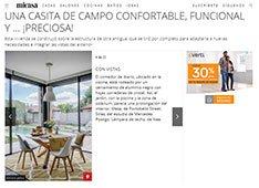Una casita de campo confortable, funcional y ... ¡preciosa!