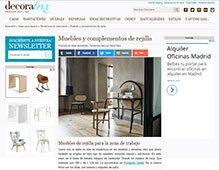Muebles y complementos de rejilla