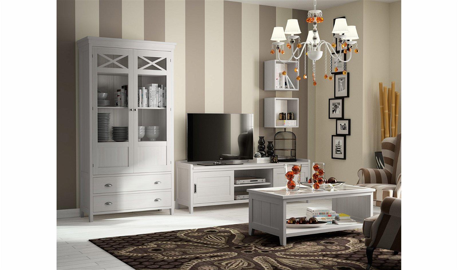 Salón moderno blanco Verona