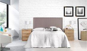 Dormitorio tapizado Savage Nayara