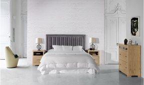 Dormitorio tapizado Souquet Domain