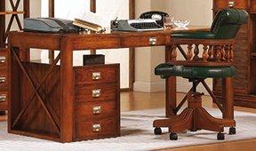 Mesa de escritorio clásica Portia