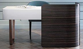 Mesa de escritorio de diseño Cosy