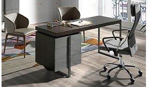 Mesa de escritorio 3 cajones Ángel Cerdá Enrico