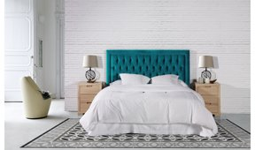 Dormitorio tapizado Pikaia Domain
