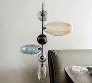 Lámpara de techo Topaz Cattelan