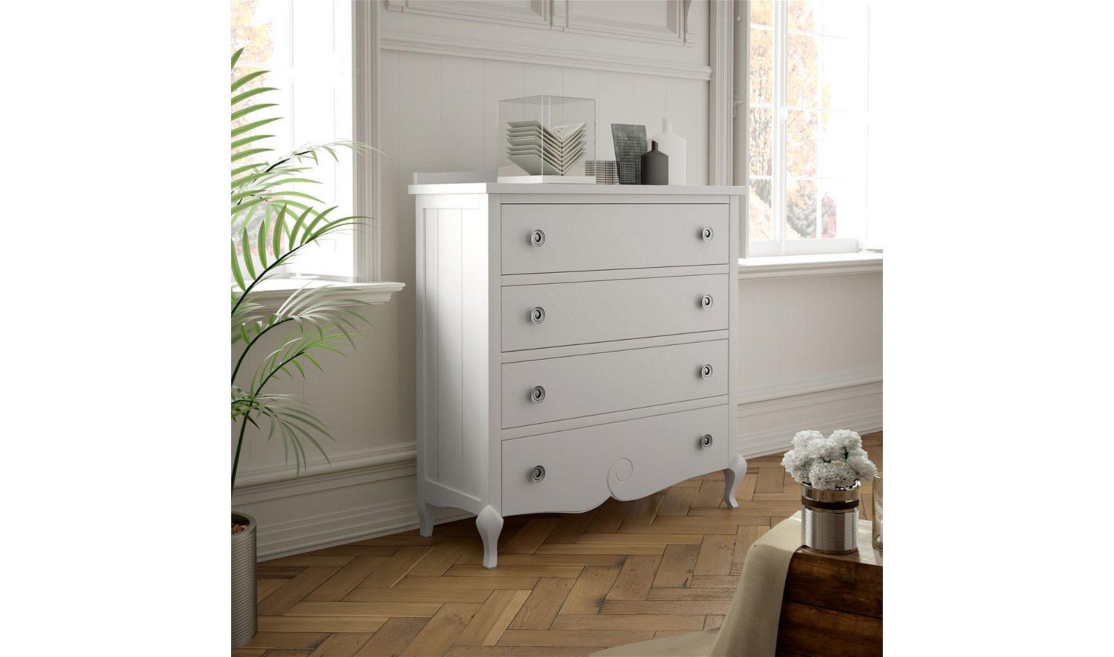 Composición mueble Tv Basilea blanco