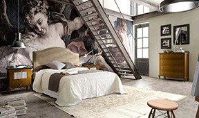 Dormitorio colonial Volga