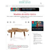 Muebles de estilo rústico con Portobello