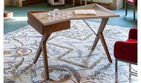 Mesa de escritorio Moderna Zenli