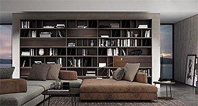 Librería de pared Tiziano