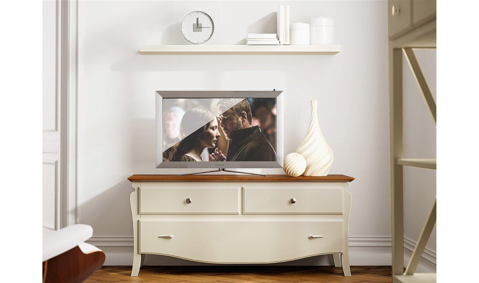 Mueble de Tv colonial Mediterráneo
