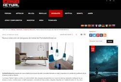 Nueva colección de lámparas de metal con Portobello
