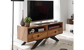 Mueble tv 2 cajones vintage Natura II