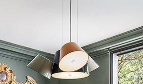 Lámpara de techo 4 pantallas Tam Tam Marset