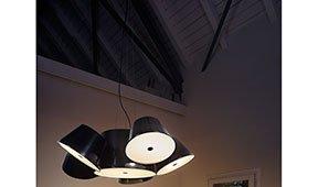Lámpara de techo 6 pantallas Tam Tam Marset