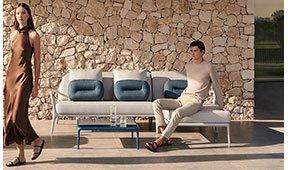 Sofá con chaise longue Xaloc Mowee