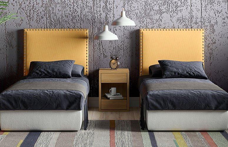 Dormitorio tapizado Savage Oberoi