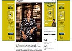 La diseñadora Adriana Hoyos llega a España: 100% estilo latino sofisticado