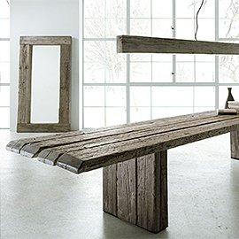 Muebles de madera centenaria